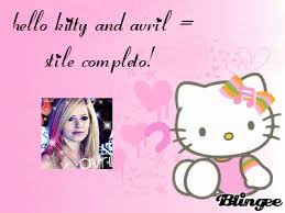 kitty avril lavigne picture 100789173 blingee