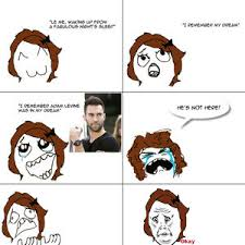 Adam Levine Meme - adam levine dream by ear7h meme center