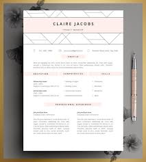Resume Templates In Ms Word Resume Template Cv Template Editable In Ms Word And Pages