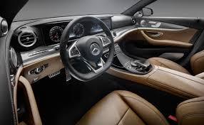 mercedes benz sets new standard with the 2017 e class interior