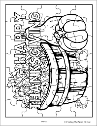 Free Thanksgiving Coloring Puzzles Coloring Pages For Free Thanksgiving Puzzles Coloring