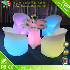 High Bar Table Set Modern Pe Plastic Bar Table Set High Bar Cocktail Table White