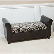 Leather Storage Ottoman Bench Storage Ottoman Bench It U0027s Really Useful Furniture U2014 The Decoras