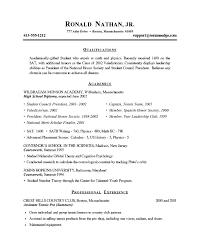 Good College Resume Examples by Examples Of Good Resumes For College Students Example Good Resume
