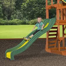 amazon com backyard discovery tucson all cedar wood playset swing