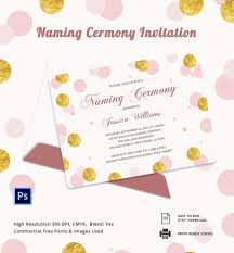 Matter For Invitation Card Invitation Card To Matter Of Naamkaran Invitation Card Template
