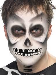Skeleton Face Halloween Makeup by Halloween Makeup Men Halloween Makeup Beautiful Makeup Ideas