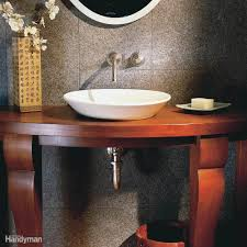 install a vanity sink family handyman