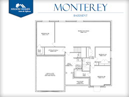 monterey floor plan rambler new home design nilson homes