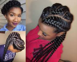 african hairstyles images amazing african goddess braids hairstyles hairdrome com