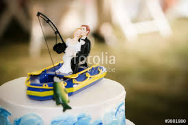 fishing wedding cake toppers fishing wedding cake topper stock photo and royalty free images