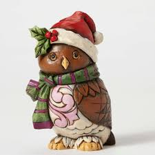 Owl Item by Be Home Pint Sized Christmas Owl Figurine