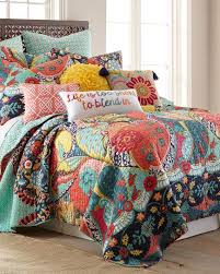 calixa floral luxury quilt print quilts bedding bed bath stein