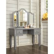 lake house writing desk and vanity mirror white or stone product