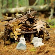 How To Build A Stump by How To Build A Fairy House Gardening Fairy Houses Fairy And