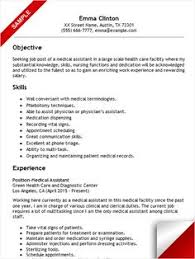 Medical Assistant Resume Example by Medical Receptionist Resume Sample Resume Examples Pinterest
