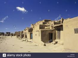 geography travel usa new mexico taos pueblo houses north