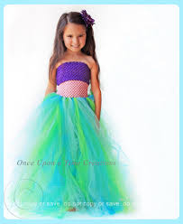 Halloween Costumes Girls Age 8 Mermaid Princess Tutu Dress Birthday Photo Prop