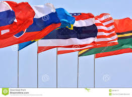 Flying Flag Flying Countries Flag Stock Image Image Of Country Countries