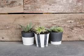 diy zinc planter pot amy howard at home