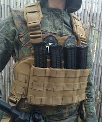 response mpx and scorpion cz four mag chest rig