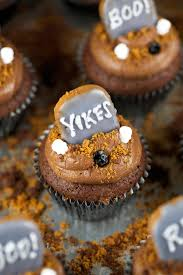 halloween graveyard brownie cupcakes jessica gavin