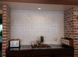 how to make a fabulous faux cement tile backsplash for less than
