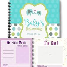 baby 1st year book elephant baby s year memory book year