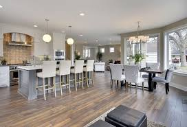 Open Plan Kitchen And Dining Room Ideas - 27 open concept kitchens pictures of designs u0026 layouts