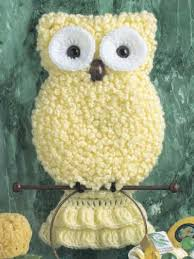 pattern crochet towel holder crochet kitchen decor owl towel holder