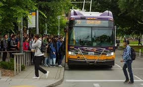seattle city light transfer transit ridership continues to grow in central seattle while solo
