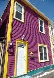 house colours fashionl got rainbow st john s wackiest house colours