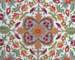 Flower Area Rugs by Floral Round Rugs Roselawnlutheran