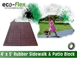 Recycled Rubber Patio Tiles by Rubber Sidewalks And Patio Tiles Buy Patio Paver Tiles Product