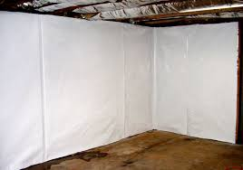 Wall Panel Systems For Basement by The Cleanspace Wall Basement Vapor Barrier System