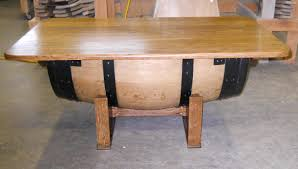 wine barrel coffee table for saleals wood
