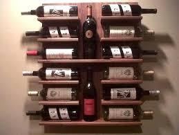 wall mounted wood wine rack plans wine ledge metal wall mounted