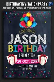 birthday party flyer template party flyer flyer template and