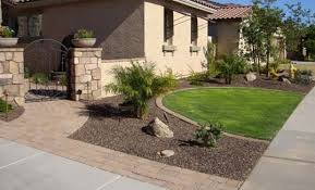 Beautiful Front Yard Landscaping - beautiful front yard stone landscaping ideas front yard
