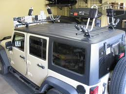 thule jeep wrangler custom jeep rack with thule hull a port kayak racks jeep