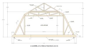 tips u0026 ideas attic roof trusses scissor truss parallel chord