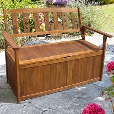 decorating storage garden bench patio furniture storage containers