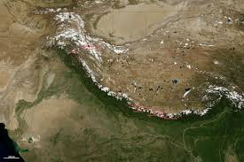 Himalayas On World Map by 8 000 Meter Peaks Of The Himalaya And Karakoram Image Of The Day