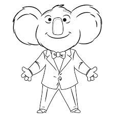 inside out cast coloring pages top 30 sing movie coloring pages