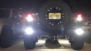 Rigid Rock Lights Installing Rigid Industries Ignite Reverse Lights On My Jeep Jku