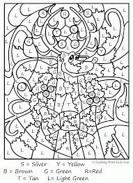 christmas math coloring pages coloring home