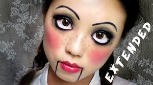 halloween makeup ideas 2017 easy halloween makeup creepy cute doll madokeki makeup reviews