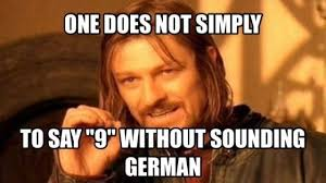 Nein Meme - german lesson nein