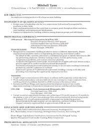 trainer sample resume unforgettable personal trainer resume