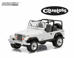 small jeep white 1994 jeep wrangler yj from clueless 1 64 diecast u2013 acapsule toys